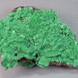 Malachite after Azurite<br />Silver Bill Mine, Costello Mine group, Gleeson, Turquoise District, Dragoon Mountains, Cochise County, Arizona, USA<br />9.5cm x 6.0cm<br /> (Author: rweaver)