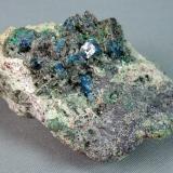 Boleite<br />Mammoth-St. Anthony Mine, St. Anthony deposit, Tiger, Mammoth District, Pinal County, Arizona, USA<br />5.5cm x 3.0cm<br /> (Author: rweaver)