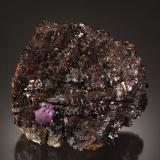 Sphalerite and Fluorite<br />Elmwood Mine, Carthage, Central Tennessee Ba-F-Pb-Zn District, Smith County, Tennessee, USA<br />10.0 x 9.0 x 3.7 cm<br /> (Author: Michael Shaw)
