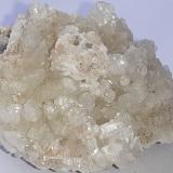 Calcite, Laumontite<br />Dongbian tunnel (construction site), Wuyishan, Nanping Prefecture, Fujian Province, China<br />3,5 x 3 cm<br /> (Author: Volkmar Stingl)