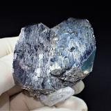 Arsenopyrite, Quartz<br />Yaogangxian Mine, Yizhang, Chenzhou Prefecture, Hunan Province, China<br />72 mm x 57 mm x 50 mm<br /> (Author: Don Lum)