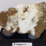 Aragonite<br />Magnesite deposit, Bürglkopf, Hochfilzen, Kitzbühel District, North Tyrol, Tyrol/Tirol, Austria<br />6,5 x 4 cm<br /> (Author: Volkmar Stingl)