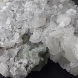 Calcite, Fluorite, Quarz, Pyrite<br />Shangmei tunnel (construction site), Dongji, Chengsun, Wuyishan, Nanping Prefecture, Fujian Province, China<br />6 x 5,5 cm<br /> (Author: Volkmar Stingl)