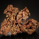 Copper<br />Rocklands Mine, Cloncurry, Cloncurry Shire, Queensland, Australia<br />7.1 x 5.4 cm<br /> (Author: Michael Shaw)