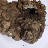 Pyrite<br />Rensselaer Quarry, Rensselaer, Marion Township, Jasper County, Indiana, USA<br /><br /> (Author: R Saunders)