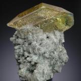 Titanite ( Sphene )  Dorfer Alp, Tyrol, Austria 4.3 x 5.2 x 3.8 cm (Author: Gail)