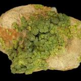 Pyromorphite, Huari-Huari Mine, Potosi Department, Bolivia.  4.2 x 2.5 x 2 cm (Author: Tracy)