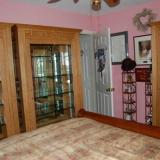 The Irv Brown Room, aka the Rose room. Three cabinets in here, the photo above shows the other one. (Author: Gail)