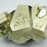 Pyrite Ambasaguas, Muro de Aguas, Rioja, Spain 64 mm × 40 mm × 35 mm (Author: Carles Millan)