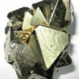 Pyrite Huanzala mine, Huallanca, Dos de Mayo, Huánuco, Peru 65 mm x 60 mm (Author: Carles Millan)