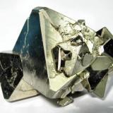 Pyrite Mina Huanzala, Huallanca, Dos de Mayo, Huánuco, Peru 52 mm x 47 mm x 45 mm (Author: Carles Millan)