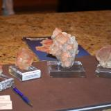 Fluorite grouping. (Author: Gail)