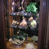 Some larger pieces to keep clean in one of our cabinets. (Author: Gail)