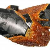 Spessartine, quartz Tongbei, Yunxiao, Zangzhou, Fujian, China 105 mm x 75 mm (Author: Carles Millan)