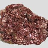 Red (rose) muscovite from North Bay, Nipissing District, Ontario, Canada.  8 x 5.5 x 3 cm.  Wonderful color! (Author: Tracy)