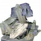 Fluorite, quartz, arsenopyrite Yaogangxian Mine, Yizhang, Chenzhou, Hunan, China (Author: Carles Millan)