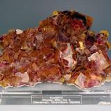 Large cabinet plate of Namibian fluorite. (Author: Gail)