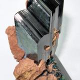 Vivianite Tomokoni mine, Machacamarca District (Colavi District), Saavedra Province, Potosí Department, Bolivia 85 mm x 45 mm (Author: Carles Millan)