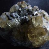 Yellow fluorite detail 2 (Author: nurbo)