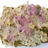 Amethyst from Piedra Parada, Veracruz, Mexico. 27 x 17.5 x 6 cm. (Author: Montanpark)