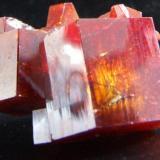 Vandinite crystal Main crystal 15 mm tall (Author: nurbo)