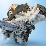 Pyrrhotite, galena, sphalerite, quartz Nikolaevskiy Mine, Dal'negorsk, Primorskiy Kray, Russia 68 mm x 48 mm  Full view (Author: Carles Millan)