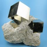 Pyrite Ampliación a mina Victoria, Navajún, La Rioja, Spain  95 mm x 78 mm (Author: Carles Millan)
