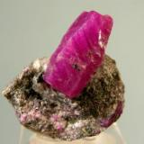 Corundum, var. ruby, Mysore, India, 3.6 x 3.5 x 2.1 cm (Author: Jim)