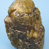 Vesuvianite, garnet Sierra de Cruces, Mun. de Sierra Mojada, Coahuila, Mexico 47 mm x 29 mm x 26 mm (Author: Carles Millan)