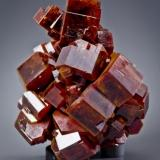 Vanadinite ACF Mine, Mibladen, Midelt, Khénifra, Meknès-Tafilalet, Morocco 57 mm x 50 mm x 36 mm  Joe Budd (Oakland, California) photo (Author: Carles Millan)