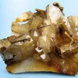 Barite, stibiconite, quartz Dahegou Mine, Lushi Co., Sanmenxia Prefecture, Henan, China 113 mm x 93 mm x 38 mm (Author: Carles Millan)