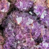 Fluorite Berbes Mining area, Ribadesella, Asturias, Spain 157 mm x 146 mm  Close up view (Author: Carles Millan)