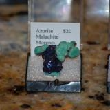 close up of Azurite and Malachite thumbnail (Author: Gail)