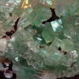 Apophyllite-(KF) Rahuri, Maharashtra, India 13x6.5x4 cm (upclose) (Author: Turbo)