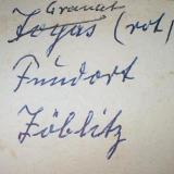Added Fritz Schell collection label (1948) with a nice slip of the pen: topaz from zöblitz (later corrected). (Author: Andreas Gerstenberg)