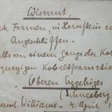 Very detailed label of a Schneeberg bismuth. (Author: Andreas Gerstenberg)