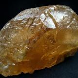 Large , naturally etched beryl  (var. morganite) crystal , from Vodorazdelnaya, Menza District, Chitinskaya Oblast, Zabaykalye, Eastern-Siberian Region, Russia  Size 99 х 63 х 28 mm (Author: olelukoe)