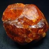 Spessartine crystal, from Nani, Loliondo, Arusha Region, Tanzania  Size 60 x 60 x 53 mm (Author: olelukoe)
