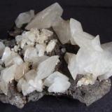 Calcite, Bogg Shaft, Smallcleugh Mine, Nenthead, Alston Moor, Cumbria. 5 x 4 cm. (Author: nurbo)