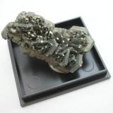4 cm marcasite aggregate from the Anna quarry, Lethmate, Sauerland, Westphalia. This quarry is regionally known for a small copper ore vein that gave nice malachite sprays a couple of years ago. (Author: Andreas Gerstenberg)