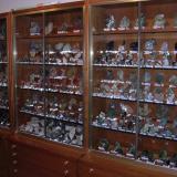 Conjunto de 4 vitrinas de 90 cm. con 7 cajones cada una. 2 m. de alto y 25 cm. cada hueco. (Autor: Edelmin)