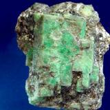 ESMERALDA (Pontevedra) cristales en formacion paralela. Cristal 5,5cm de arista..JPG (Autor: DAni)