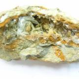 Celestina, Calcita Lo Boligni, La Alcoraya, Alicante, Comunidad Valenciana, España 110x50 mm  Celestina en geoda de Calcita (Autor: trencapedres)