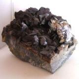 siderita galena  altear almeria cristales de galena de 15mm.jpg (Autor: Nieves)