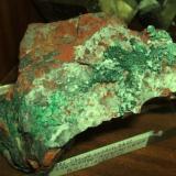 rama de supuesto cobre seudomorfico de malaquita cerro minado huercal-overa almeria.jpg (Autor: Nieves)