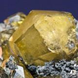 Anglesita - Touissit (Marruecos) Cristal 2 cm. (Autor: El Coleccionista)
