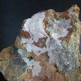 Hemimorfita Sierra Gador - Almería - Andalucía - España 8 x 8 cm (Autor: Diego 1)
