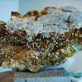 Wulfenita minas Cortijo del Humo Albuñuelas Granada año2000 pieza3,5x7cms. (Autor: Gelo)