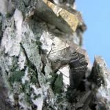 Arsenopirita Minas de Cala - Huelva - Andalucía - España cristales de 2.3 cm (Autor: Diego Navarro)