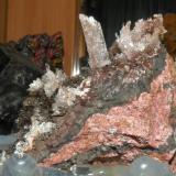 Yeso. Mina la gaviota. cola de caballo, portman, murcia, 6 cm (Autor: nimfiara)